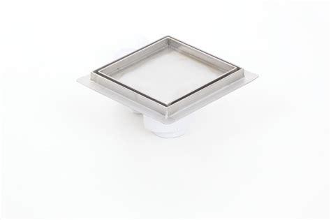 stainless steel tile insert square floor drains 150x150