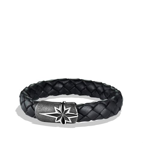 david yurman maritime north star bracelet  black  men