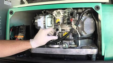 Onan Carburetor Removal Youtube