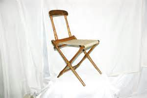 antique wood folding chair by bj harrison of arkville ny free