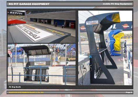 Rs Garage by System To Success Rs Pit Garage Equipment Engl