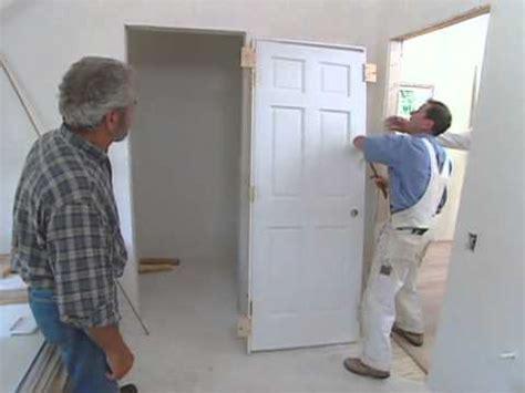 install interior door modern colonial bob vila