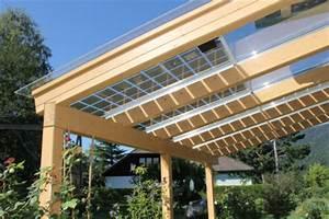 terrassenuberdachung mit photovoltaik anlage With garten planen mit balkon pv anlage
