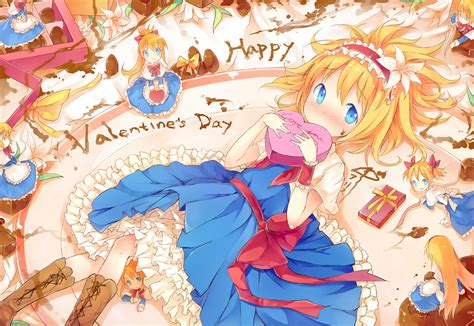 Valentines Day Anime Wallpaper - doku doku s day wallpaper and background image