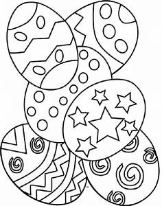 Easter Pages To Color Coloring Part 12