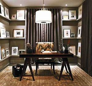 small, work, office, decorating, ideas