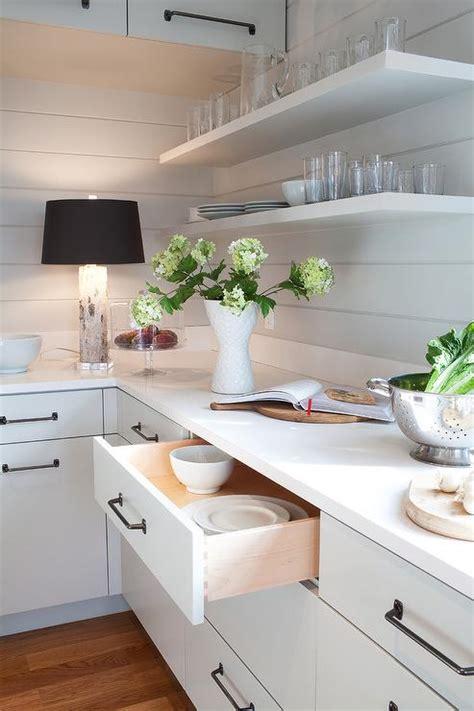 Shiplap Backsplash by Kitchen With Shiplap Backsplash Cottage Kitchen