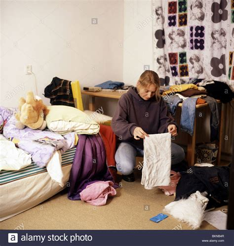 Bedroom Tidying by Tidying Up Bedroom Stock Photos Tidying Up Bedroom Stock