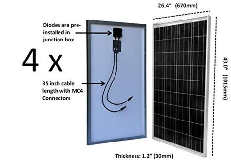 windynation  watt solar kit pcs  watt solar panels