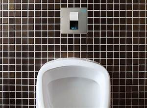 Hidden Automatic Urinal Flusher L