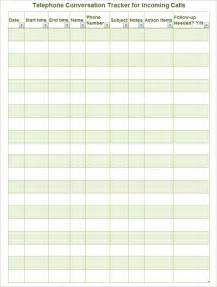 Log Sheet Template Excel Call Log Template 11 Free Word Excel Pdf Documents Free Premium Templates
