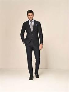 Blauer Anzug Schwarze Krawatte : die besten 25 dunkelblauer anzug ideen auf pinterest marineblau trauzeugen marine tux und ~ Frokenaadalensverden.com Haus und Dekorationen
