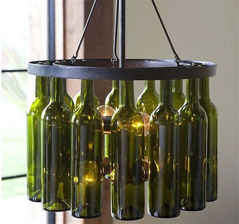 25 best ideas about wine bottle chandelier on