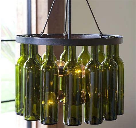 25 best ideas about wine bottle chandelier on