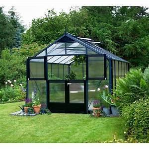 Serre De Jardin Polycarbonate : serre de jardin 10 9 m aluminium en polycarbonate 10mm ~ Dailycaller-alerts.com Idées de Décoration