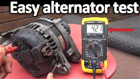 How To Test An Alternator ( Testing The Voltage Regulator