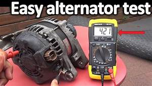 How To Test An Alternator   Testing The Voltage Regulator