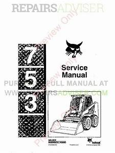 Download Bobcat Loader 753 Pdf Repair Manual