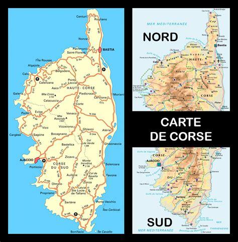 Ile De Tourisme Carte by Carte De Corse Touristique 187 Vacances Arts Guides Voyages