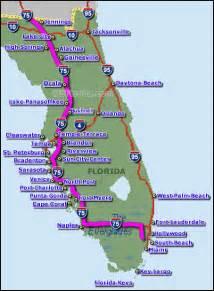 Interstate 75 Florida Map