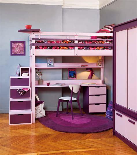 chambre fille lit mezzanine lits mezzanines urbaine