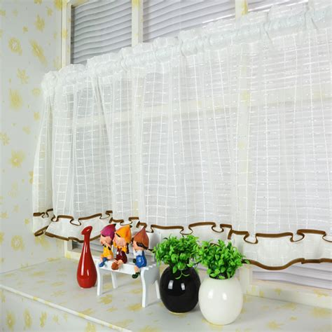 s v blinds half curtains for living room modern sheer and