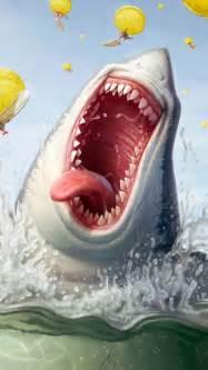 Funny Sharks