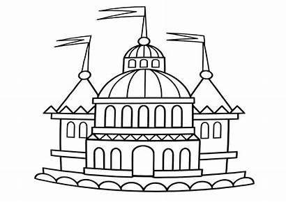 Palace Coloring Pages