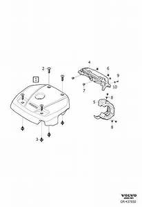 Volvo S90 Clip  Insulation And Cover  Engine  B4204t9