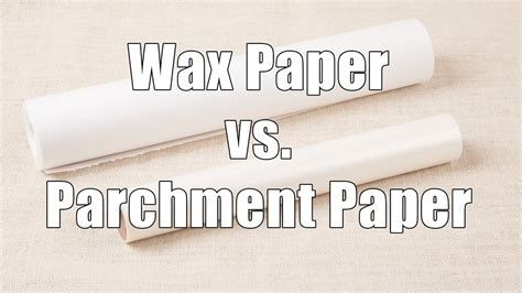 paper wax parchment cooking microwave versus ok