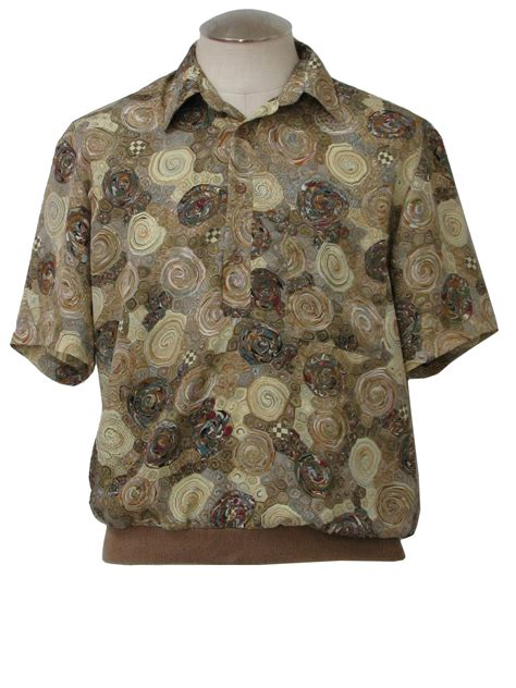 vintage alan stuart disco shirt early  alan