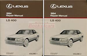 Shop Manual Ls400 Service Repair 1994 Book Ls 400 Haynes