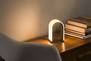 quotmr nquot dimming led table lamp by koncept mnml living With mr n table lamp