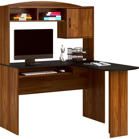 Mainstays Student Desk Finishes Manual by Mainstays L Shaped Desk With Hutch Finishes L