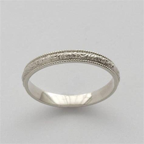 simple wedding ring engraving simple vintage engagement rings wedding promise