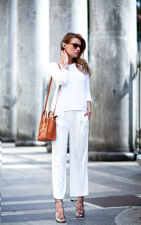 All White Outfits How To Wear White And The Outfits To