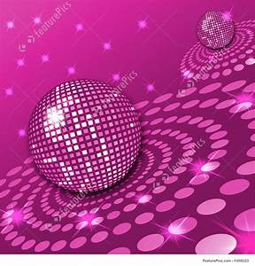 Illustration Of Pink Disco