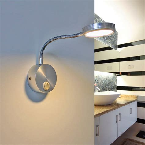 led wall lights indoor flexible hose 5w led wall ls with switch modern indoor