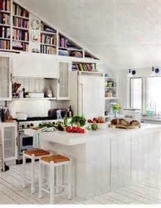 white galley kitchen ideas slanted ceiling kitchens on slanted ceiling