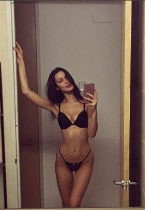 Bella Hadid posts underwear selfie – but fans worry about