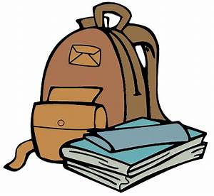 Open backpack clipart - Clipartix