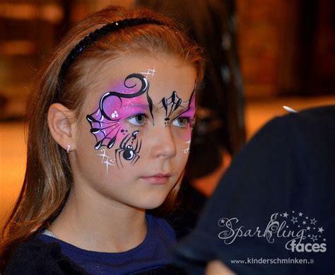 schminken für die besten 25 kinderschminken hexe ideen auf spinne im gesicht