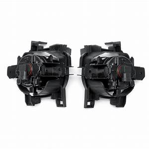 2pcs2pcs Car Fog Lights Lamp With Frame And Bulb Switch