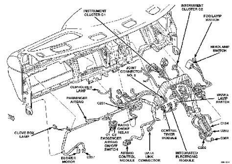 199 Intrepid Wiring Diagram by Dodge Ram 1500 Questions Electrical Problem Dashboard