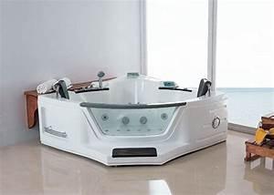 Baignoire Pour 2 : baignoire baln o d 39 angle 2 places vesuve baignoire baln o ~ Edinachiropracticcenter.com Idées de Décoration