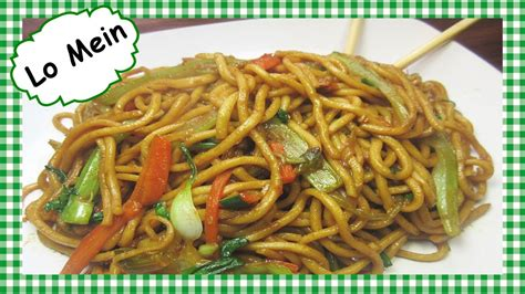 chinese lo mein chinese food recipe