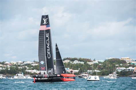 Oracle Boat by Oracle Team Usa Makes Big Speed Gains Business Insider