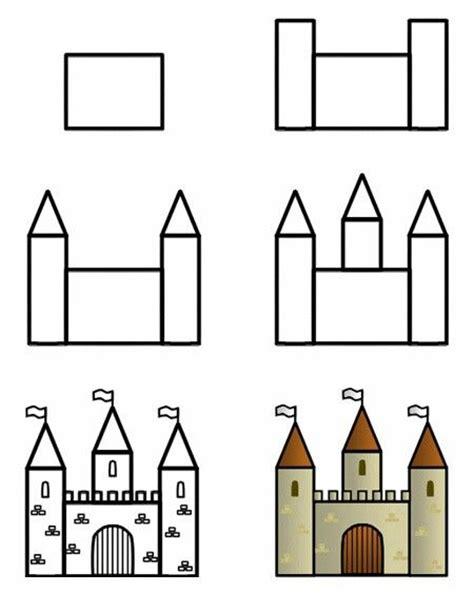 Castle drawing template costumepartyrun castle scrapbooking templates pinterest maxwellsz