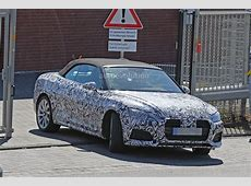 2017 Audi S5 Cabriolet Reveals Bold Front End in 'Ring Spy
