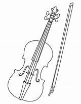 Violin Drawing Coloring Cello Fiddle Pages Sheet Bow Musical Drawings Pdf Tattoo Instruments Designs Sketch Violino Pencil Crafts Getdrawings Realistic sketch template